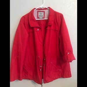 Weather Tamer Red Jacket